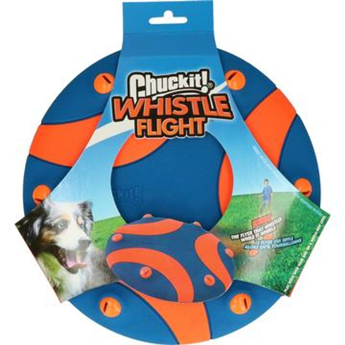 Hundeleke Frisbee Chuckit! Whistle Flight
