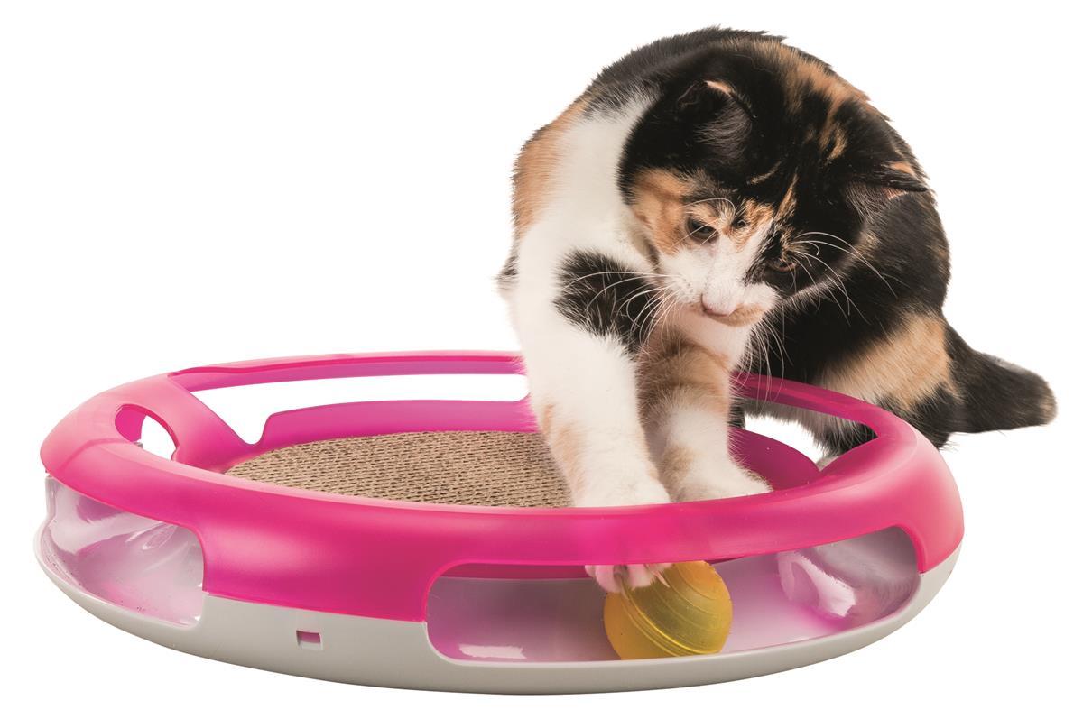 Aktivitetsleke til katt Race & scratch