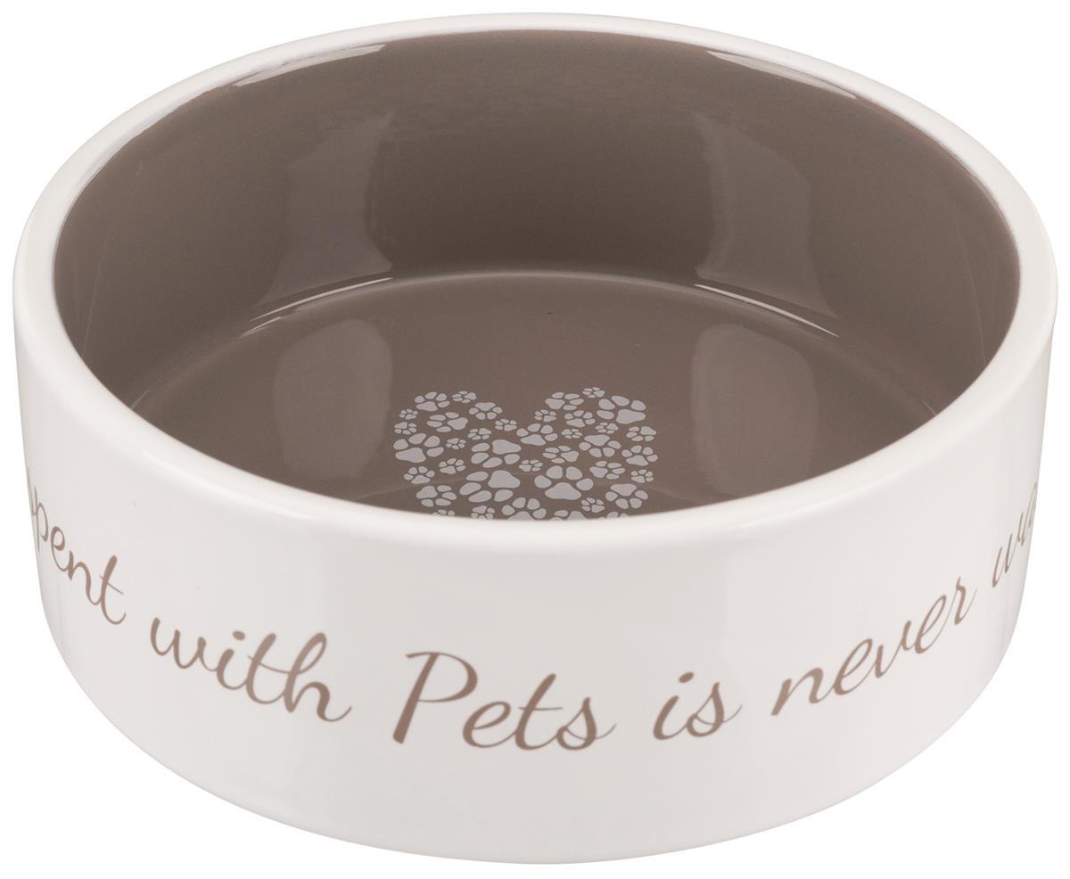 Matskål i keramikk Pet`s home 0,8 liter Dia 16 cm