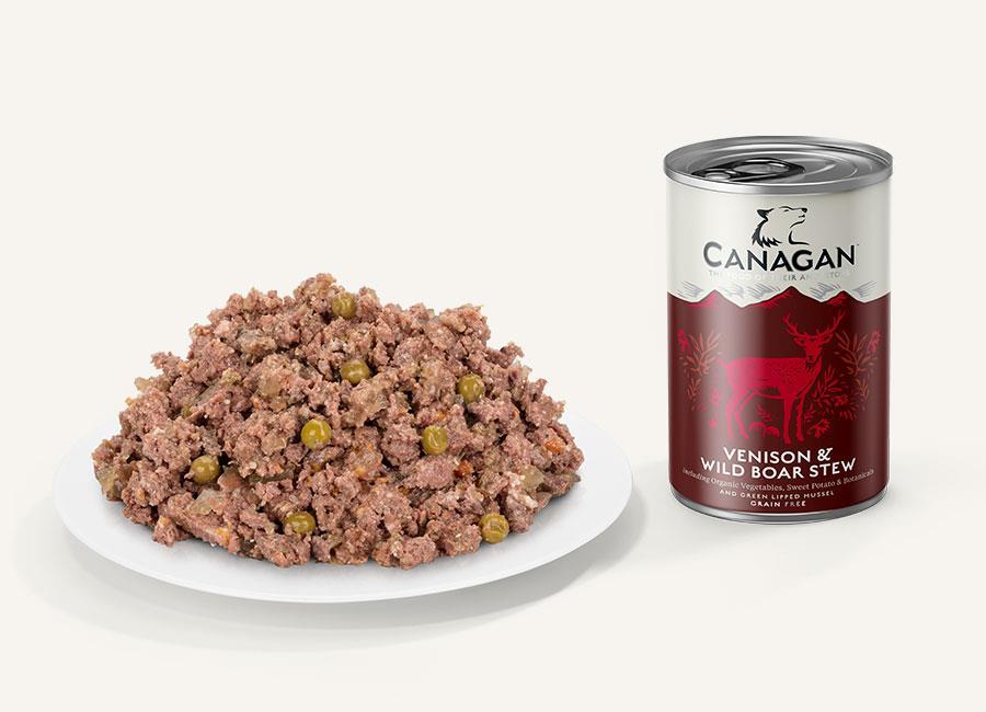 Canagan våtfòr Venison & wild boar stew 400 gr