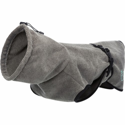 Badekåpe til hund, Frottè L - 60cm