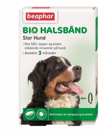 BEAPHAR Flåtthalsbånd til stor hund 80 cm