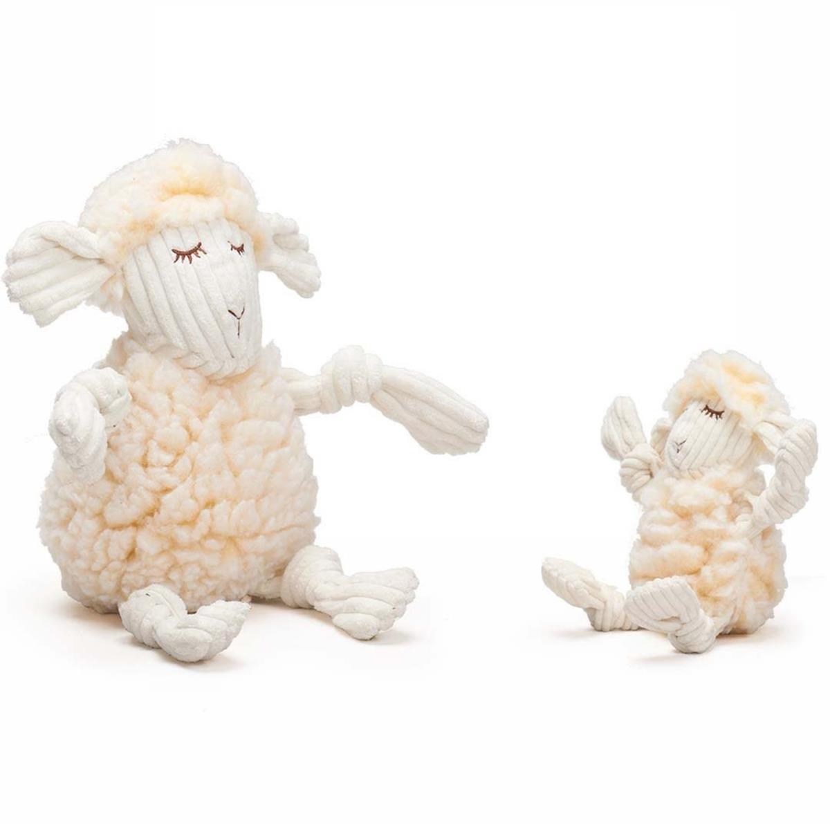 Hugglehound fluffer knottie lamb str. S 28cm