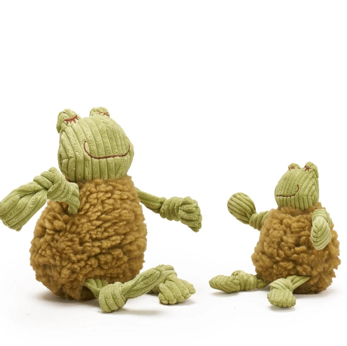 Hugglehounds fluffer knottie frog str. S