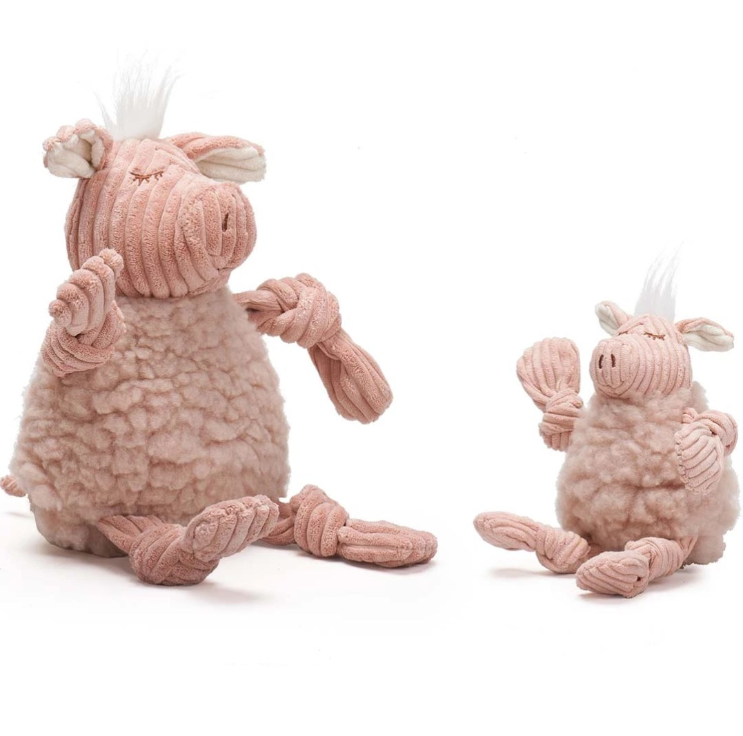 Hugglehounds fluffer knottie pig Str. L
