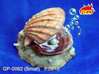 Akvariedekor Luftdreven Musling