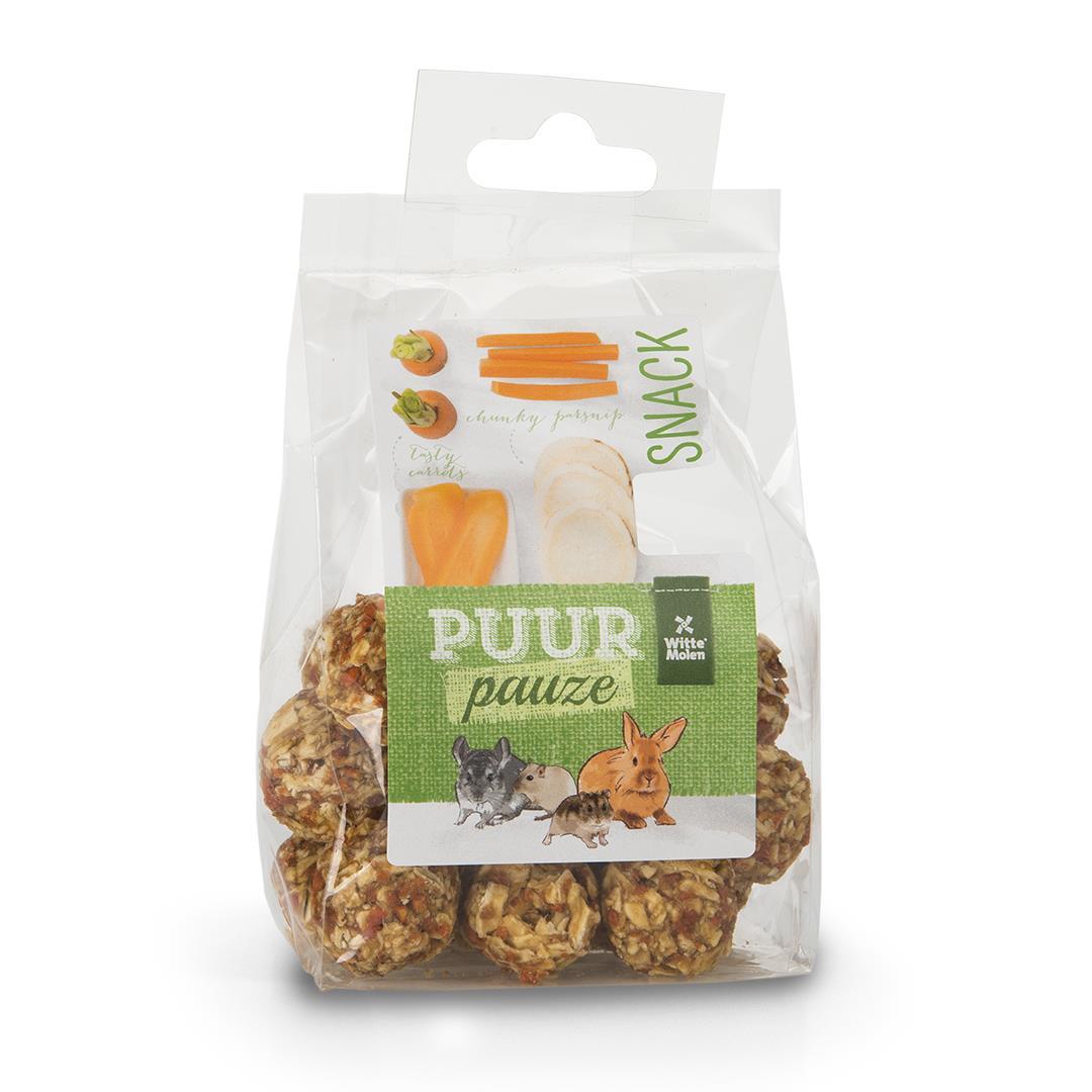 Puur Snackballer m/ gulrot og pastinakk