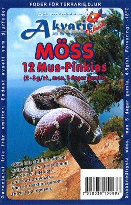 Fryst mus/pinkies ca 2-3 gr 12 stk