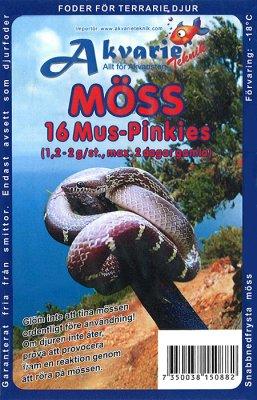 Fryst mus/ pinkies ca 1.2-2 gr 16 stk