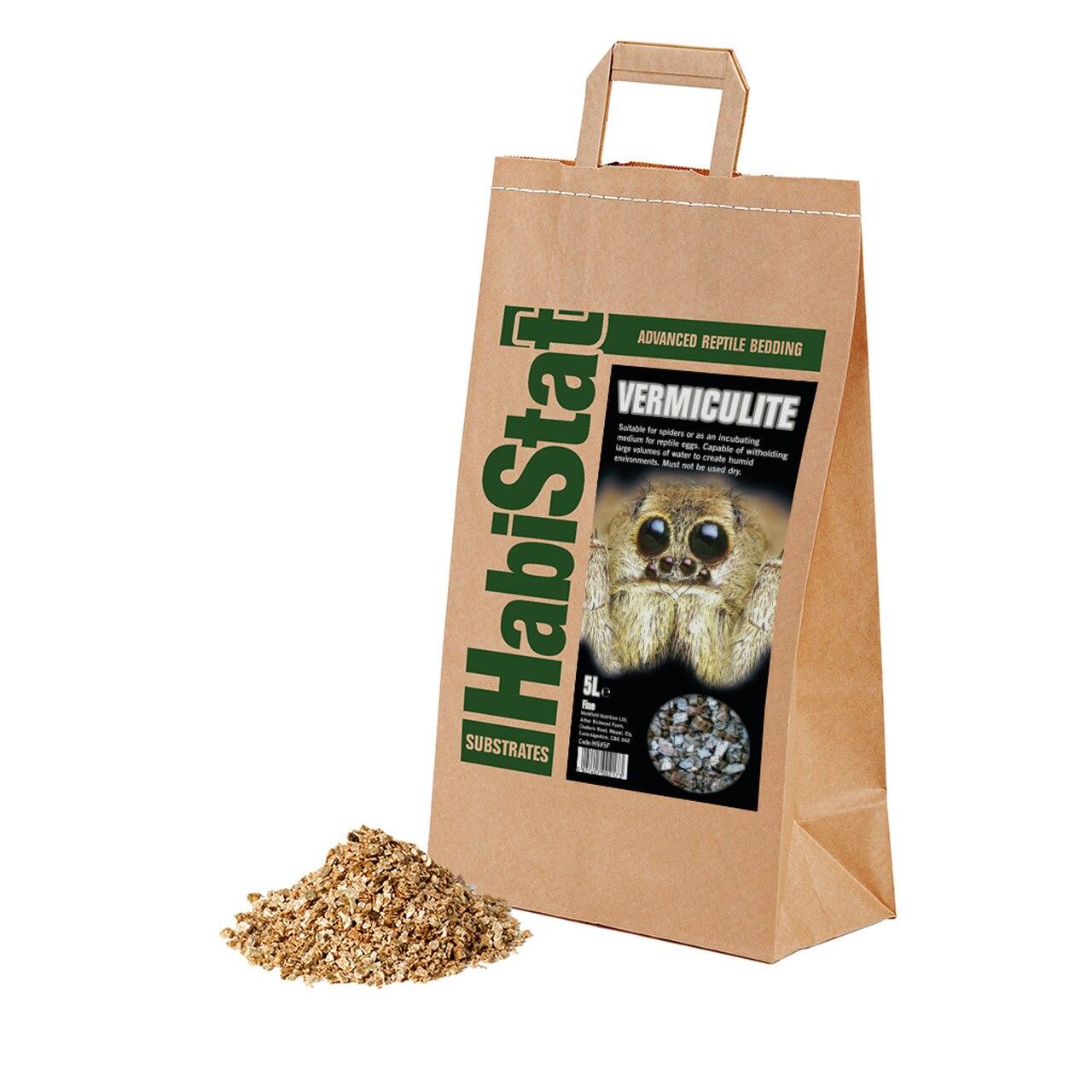Vermiculite HabiStat Fin 5 liter