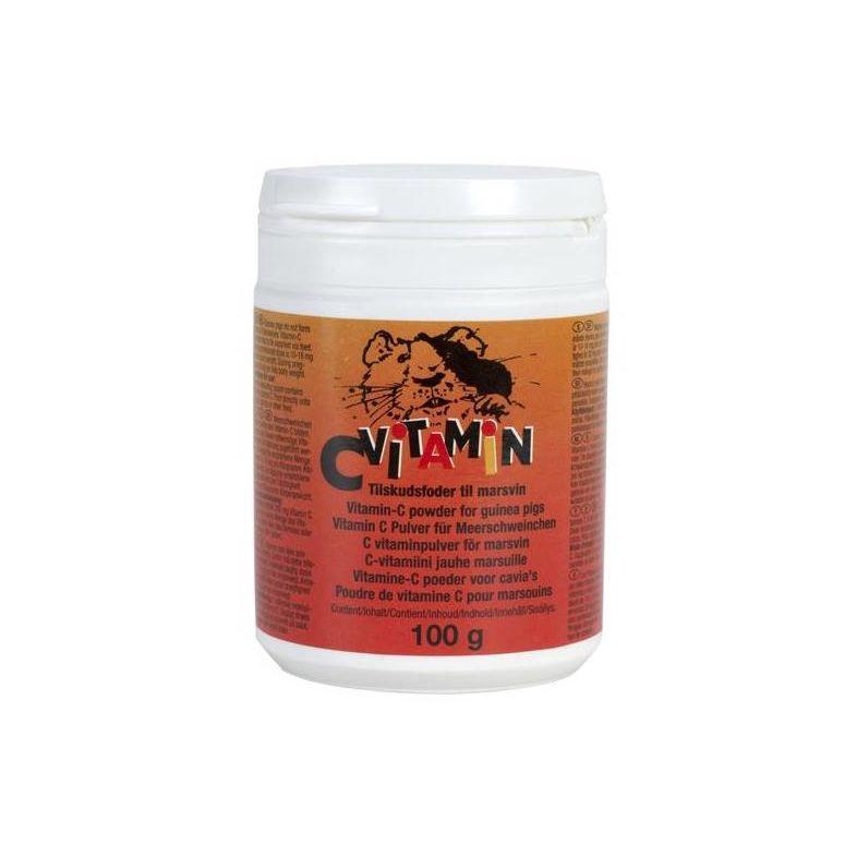 C-vitamin pulver til gnagere 100 g.