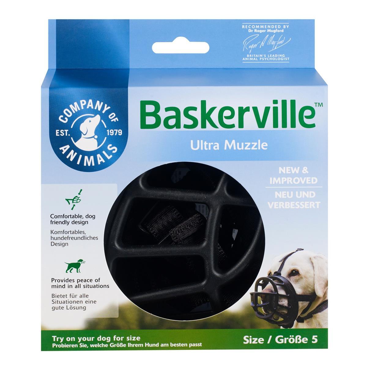 Munnkurv Baskerville Ultra str. 5