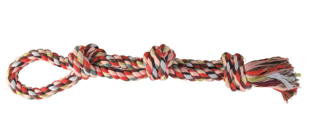 Trixie tauleke 3 knuter dobbelt 40 cm