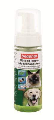 Bio flått og loppemiddel håndskum hund og katt 150