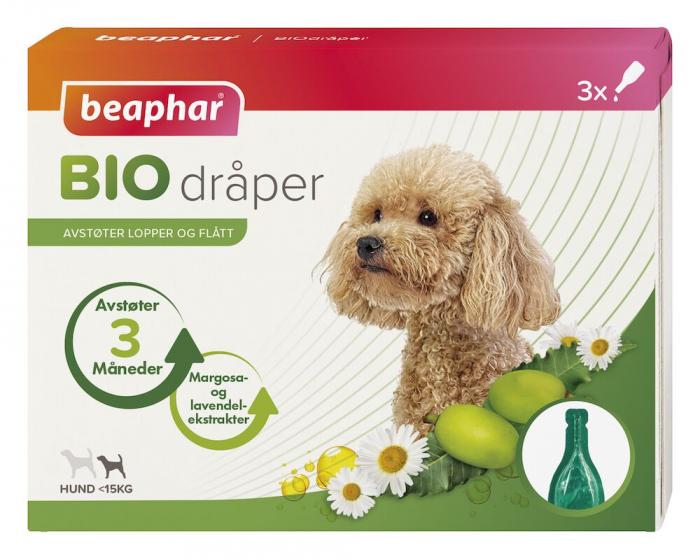 Bio Spot On Hund opptil 15kg